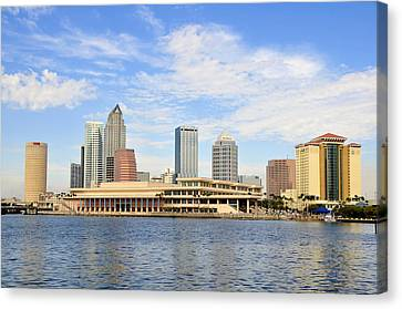 Beautiful Day Tampa Bay Canvas Print by David Lee Thompson