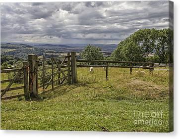Beautiful English Landscape Canvas Print