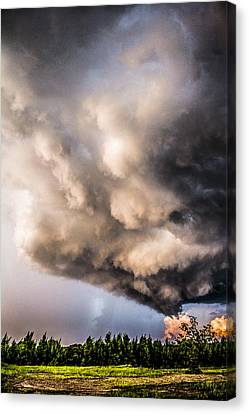 Beautiful Formations Canvas Print by Parker Cunningham
