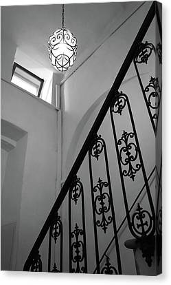 Antique Ironwork Canvas Print - Beautiful Foyer by Patricia Strand