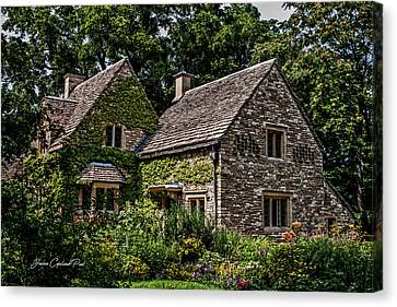 Canvas Print featuring the photograph Beautiful Home by Joann Copeland-Paul