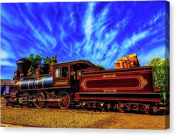 Beautiful Locomotive Glenbrook Canvas Print