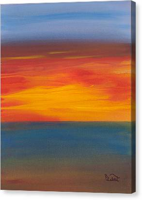 Beautiful Morning Canvas Print by Bonnie Rabert