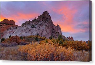 Canvas Print featuring the photograph Beautiful October by Tim Reaves