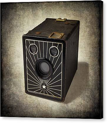 Beautiful Old Camera Canvas Print by Garry Gay