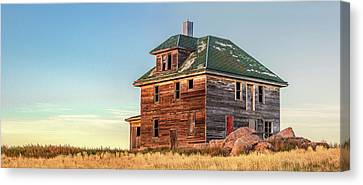 Abandoned Farm House Canvas Print - Beautiful Old House by Todd Klassy