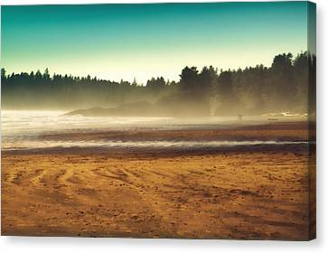 Beautiful Pacific Morning  Canvas Print by Naman Imagery