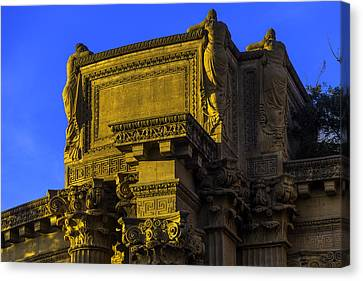Beautiful Palace Of Fine Arts Canvas Print by Garry Gay