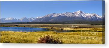 Beautiful Panoramic Landscapes Canvas Print by Boon Mee