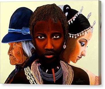 Beautiful People Canvas Print