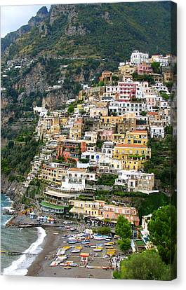 Beautiful Positano Canvas Print