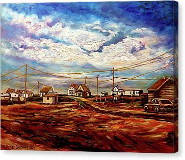Beautiful Prince Edward Island Maritime Canada Canvas Print by Carole Spandau