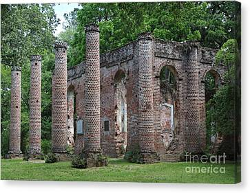 Beautiful Ruins Canvas Print