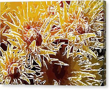 Beautiful Soft Coral Flowers Underwater 1 Canvas Print