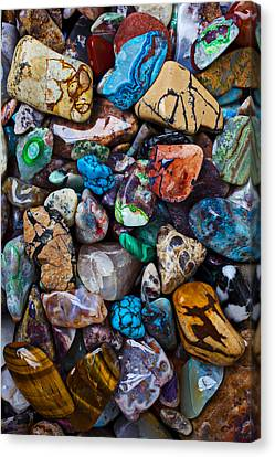 Matter Canvas Print - Beautiful Stones by Garry Gay