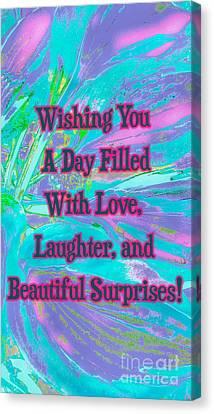Beautiful Surprises Canvas Print