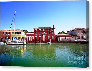 Beautiful Torcello Canvas Print by Floyd Menezes