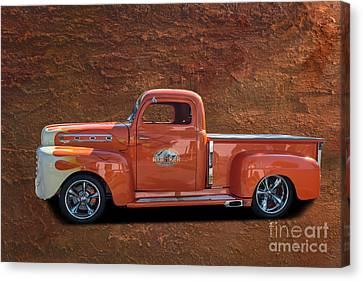 Beautiful Truck Canvas Print by Jim  Hatch