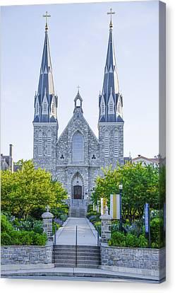 Radnor Canvas Print - Beautiful Villanova Cathedral by Bill Cannon