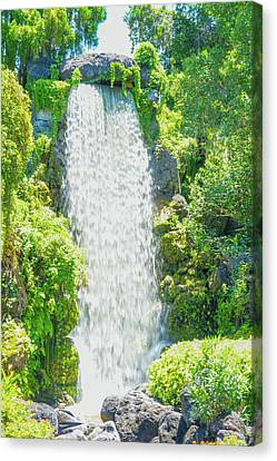 Beautiful Waterfall  Canvas Print by Art Spectrum