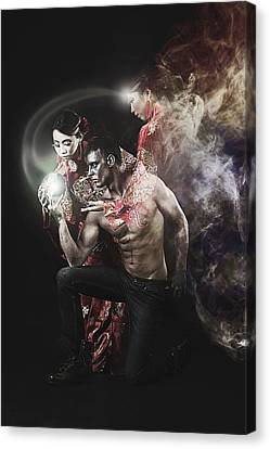 Beautiful Witch Canvas Print by Adam LeCroy