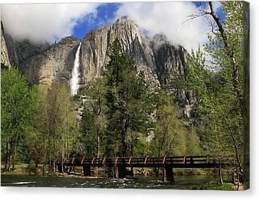 Beautiful Yosemite Canvas Print by Donna Kennedy