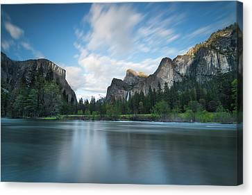 Beautiful Yosemite Canvas Print by Larry Marshall