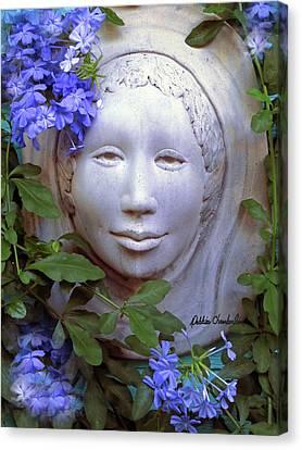 Beauty Blue Canvas Print by Debbie Chamberlin