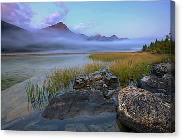 Canvas Print featuring the photograph Beauty Creek Dawn by Dan Jurak