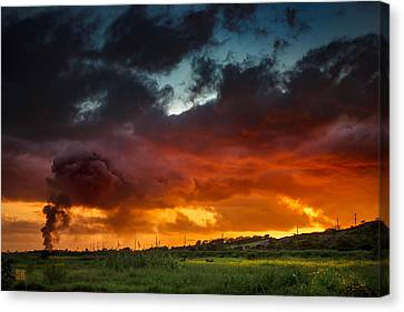 Beauty From Ashes Canvas Print