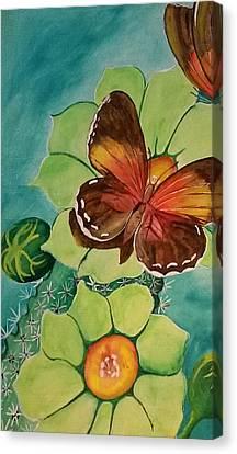 Beauty In Butterflies Canvas Print