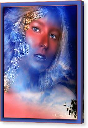 Beauty In The Clouds Canvas Print by Clayton Bruster