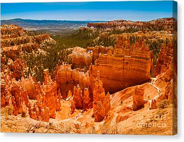 Beauty Of Bryce Canyon Canvas Print