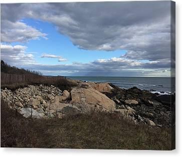 Beauty Of Land, Sea And Sky Canvas Print