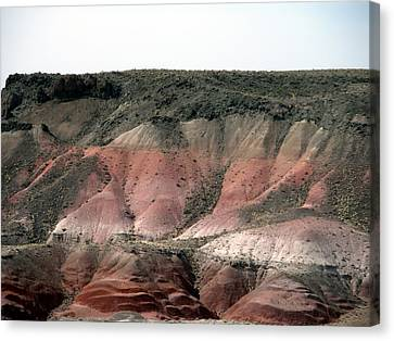 Beauty Of Painted Desert Canvas Print by Jeanette Oberholtzer