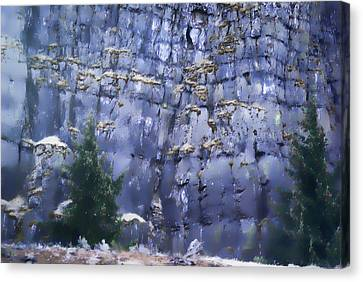 Canvas Print featuring the photograph Beauty Of The Gorge by Dale Stillman