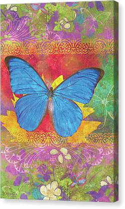 Beauty Queen Butterfly Canvas Print by JQ Licensing