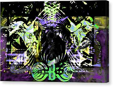 Beauty Vs Noise Tribute 2 Canvas Print by Andrew Kaupe