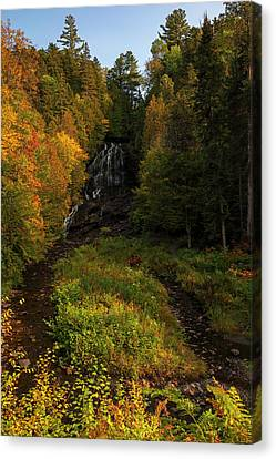 Canvas Print featuring the photograph Beaver Brook Falls by Juergen Roth