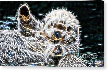 Beaver Canvas Print - Beaver Collection by Marvin Blaine