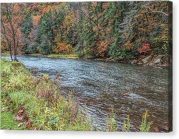Canvas Print featuring the photograph Beaver Creek by John M Bailey