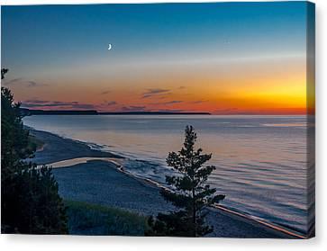 Beaver Creek Sunset Canvas Print