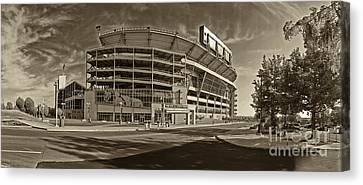 Beaver Canvas Print - Beaver Stadium by Jack Paolini