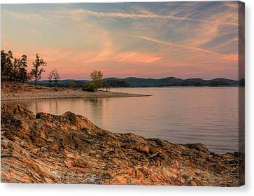Beavers Bend Sunrise Canvas Print