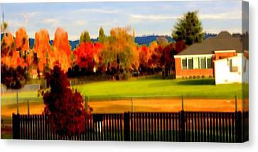 Beaverton H.s. 2 Canvas Print by Terence Morrissey