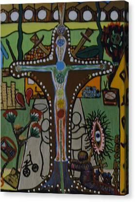 Becky's Old World Canvas Print by Becky Jenney