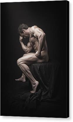 Canvas Print - Becoming A Masterpiece by Marcin and Dawid Witukiewicz