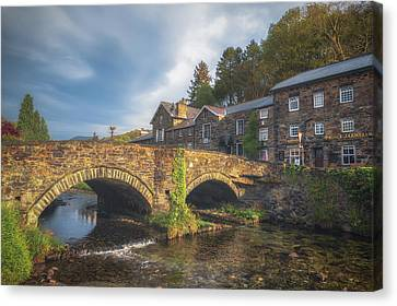 Beddgelert Bridge Canvas Print by Chris Fletcher
