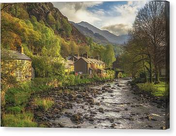 Beddgelert Canvas Print by Chris Fletcher