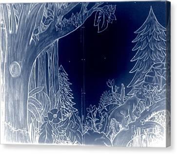 Bedorest2 Canvas Print by Bella Mine